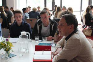 Diskussion mit Vertretern / Kandidaten des Hessischen Landtages an der Albrecht-Dürer-Schule