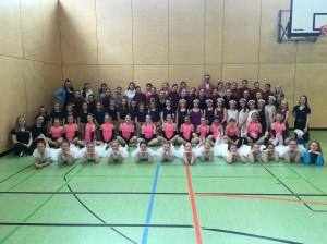 Jugend trainiert für Olympia: Mit 73 Schülerinnen und Schülern zum Landesentscheid Tanz