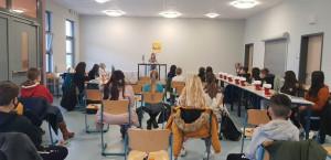 Vorlesewettbewerb des Börsenvereins des Deutschen Buchhandels in der  Albrecht-Dürer-Schule