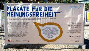 Grundkurs Kunst Q2: Plakate für die Meinungsfreiheit